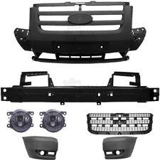 Set Stoßstange vorne dunkelgrau 5-teilig + Nebelleuchten Ford Transit Bj. 06-13