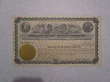 Midland Divide Mining Company    1919 Nevada Corporation