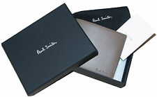 PAUL SMITH HANDCRAFTED LEATHER WALLET BOXED RARE WITH COIN COMPARTMENT