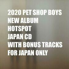 2020 CD PET SHOP BOYS HOTSPOT & 2 BONUS TRACKS Rock Album Pop Dance Neil Tennant