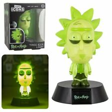 Rick & Morty NEW * Toxic Rick Icon Light * Battery Power 4-Inch Lamp Figure