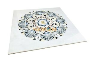 Marble Dinette Table Top Butterfly Traditional Inlay Antique Kitchen Decor W115