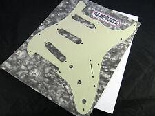 Allparts Strat Pickguard Mint Green 11 Hole 3 Ply PG 0552-024