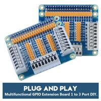 Multifunction GPIO Extension Board Module 1 to 3 Port DIY for Raspberry Pi 2 3 B