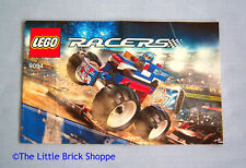 Lego Racers 9094 Star Striker - INSTRUCTION BOOK ONLY - No Lego bricks included