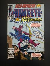 Solo Avengers #1 (1987) FN/VF  feat: Hawkeye and Mockingbird