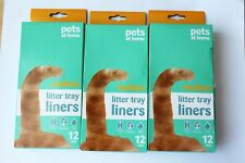 Pets At Home Medium litter tray liners x35 drawstring up to 42cm tray