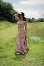 Womens Summer Boho Long Maxi Dress Casual Sundress Free Size 8-14