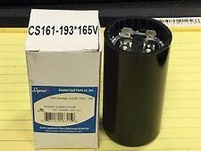 Capacitor, Start, 161-193 MFD 110-165VAC, Motor Start capacitor, #CS161-193X165V