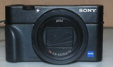 Sony DSC-RX100 VI Digital Camera 24-200mm Zeiss Zoom Lens - Black - Excellent