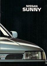 Nissan Sunny 1993-94 UK Market Sales Brochure L LX SLX SR GTi