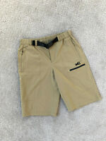 Millet Hiking Shorts Men's 29 Outdoor Belt trail Running Travel Khaki Cargo EUC