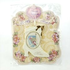 Rare Precious Moments Porcelain Ornament Mother Vintage 1998 Victorian Enesco