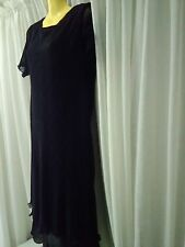 Womans F&LCollection Dress, Black, Size 10, Bust 80, Waist 80, Hips 85, Lined, P