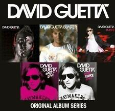 DAVID GUETTA - Original Album Series -- 5 CD NEU & OVP