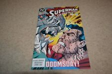 Superman The Man of Steel #19 1993 FNVF Death of Superman / Justice League