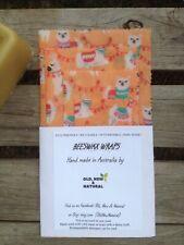 Llama kids Beeswax Wraps | STARTER PACK OF 4| Eco Friendly | Australian made
