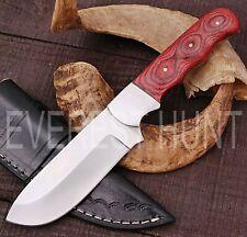 EVEREST HUNT CUSTOM HANDMADE D2 TOOL STEEL HUNTING CAMP SKINNER KNIFE B5-1942
