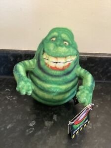 """GHOSTBUSTERS OFFICIAL 2016 SLIMER 6"""" PLUSH TOY KEYRING MOVIE GREEN GHOST MONSTER"""