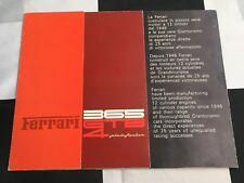 1971 FERRARI 365 GTB4 DAYTONA PININFARINA ORIGINAL SALES BROCHURE PROSPEKT 49/71