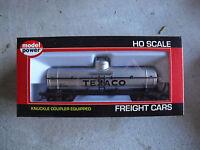 HO Scale Model Power Texaco Chemical Tank Car NIB 98106