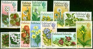 Falkland Islands 1968 Set of 14 SG232-245 Fine Lightly Mtd Mint