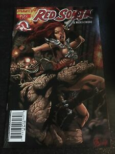 Red Sonja#20 Incredible Condition 9.0(2007) Batista Variant