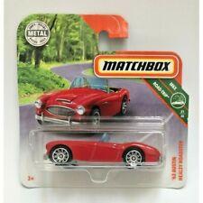 '63 Austin Healey Roadster Matchbox Diecast Cars 1:64, Mattel