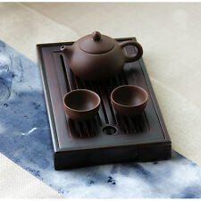 Bamboo Gongfu Tea Tray Chinese Serving Table 25*15*3cm Mini Size High Quality