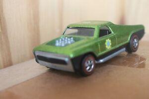 Vintage Original Redline Hot Wheels Seasider Green 1969