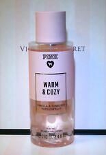 Victoria's Secret PINK Warm & Cozy body mist splash 8.4 Fl oz Vanilla & sunburst