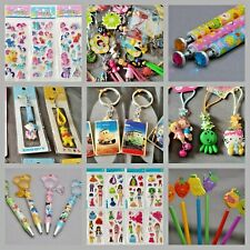 Party Bag Fillers Charm Keyring Sticker Purse Pencil Pen Loot Goody phone charm