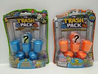 Trash Pack Blister Packs - 1x Series 2 & 1x Series 3 - (Damaged Packaging)