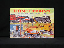1956 LIONEL TRAINS NEW CONSUMER CATALOG MINT RARE HARD TO FIND