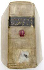 1678 ANTIQUE VELLUM BOUND MERCURE GALANT ILLUSTRATED w/ ENGRAVINGS BOOK