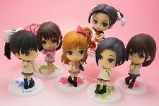 RARE AUTH Full Set of 6 Love Plus Ichiban Kuji G Prize Manaka&Nene&Rinko Figures