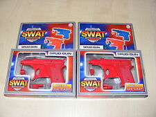 2 x CHILDRENS KIDS RED DIE CAST METAL SWAT ACADEMY POTATO / SPUD GUN TOY  - NEW