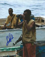 **GFA Captain Phillips Movie *BARKHAD ABDI* Signed 8x10 Photo MH4 COA*
