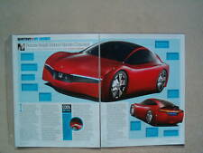 2007 HONDA HYBRID SPORTS CONCEPT CAR **ORIGINAL ARTICLE