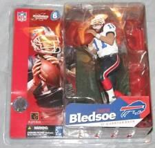 Rare Drew Bledsoe Mcfarlane Figure Buffalo Bills Series 6 MINT White Variat 2003