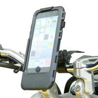 Impermeabile Moto Bici Cinturino Custodia Rigida Supporto Per Iphone 6 Più
