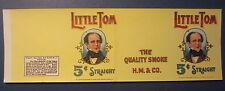 Original Old Vintage - LITTLE TOM - CIGAR Can LABEL - H.M. & Co.