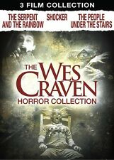WES CRAVEN HORROR DVD Serpent and the Rainbow Shocker People Under the Stairs