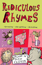 """VERY GOOD"" Ridiculous Rhymes, , Book"