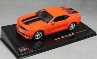 IXO Chevrolet Camaro in Orange with Black Stripes 2012 MOC173 1/43 NEW