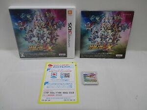 3DS -- Super Robot Wars UX -- Can data save! Nintendo 3DS, JAPAN Game. 61130