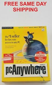 SYMANTEC PC ANYWHERE VERSION 9.2 014225 E1-2