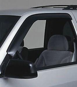 Fits 93-98 T100 GTS Acrylic Smoke VentGard Window Visors Deflectors 2pc 40176