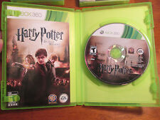 Harry Potter and the Deathly Hallows: Part 2 Xbox 360 COMPLETE RARE VIDEOGAME