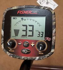 "Fisher F19LTD Conceal Camo W/Stock 10x5"" DD Search Coil"